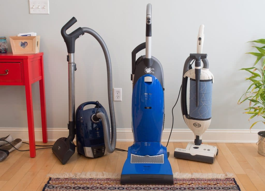 Upright and canister vacuums