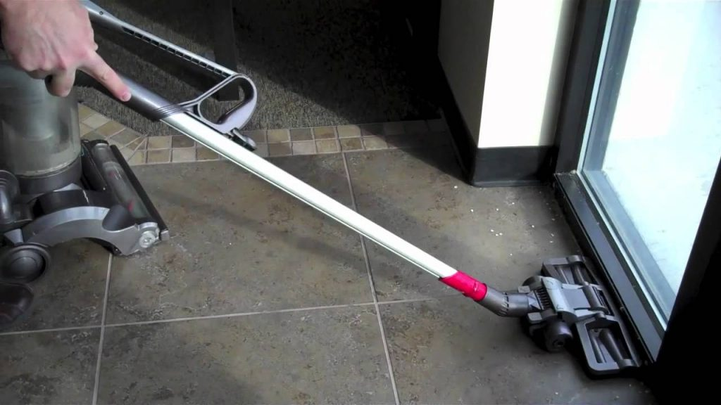 Special vacuum for your tile floors