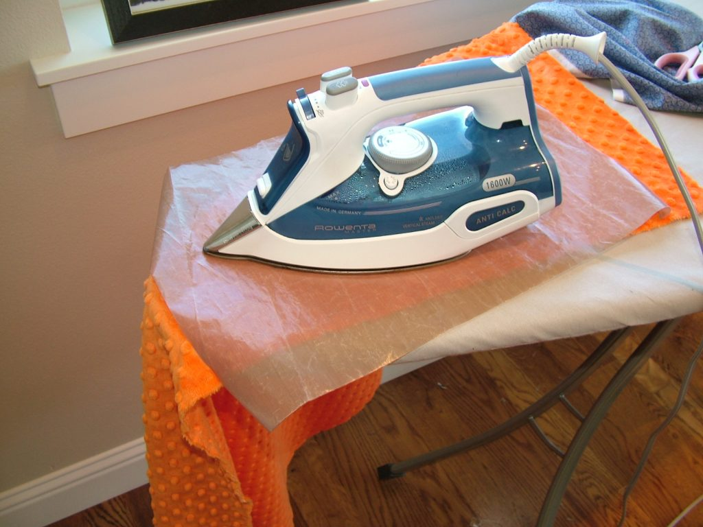 Iron for sewing