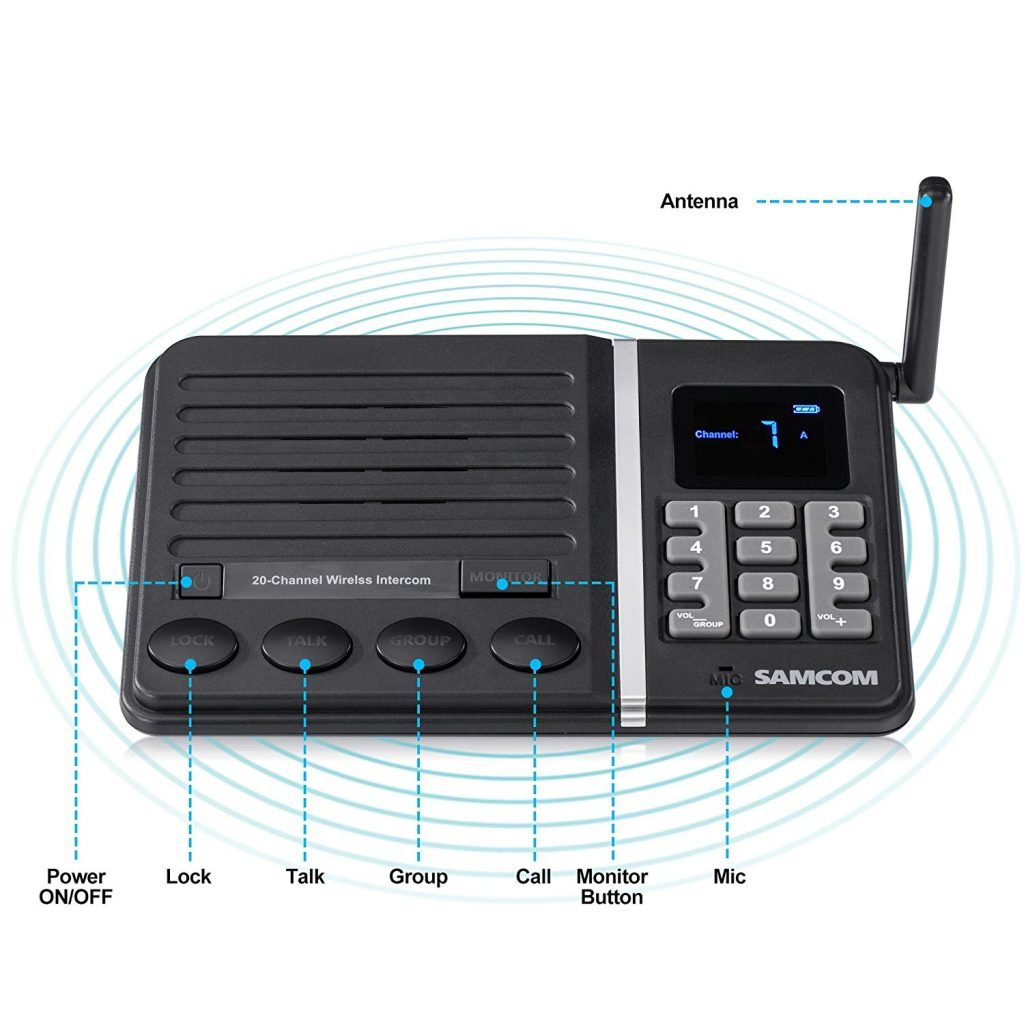 6 Best Wireless Home Intercom Systems Dec 2018 Ultimate Guide Video Switch For System Circuit Diagram 810u8swwsdl Sl1500 1024x1024 Image You Can Get