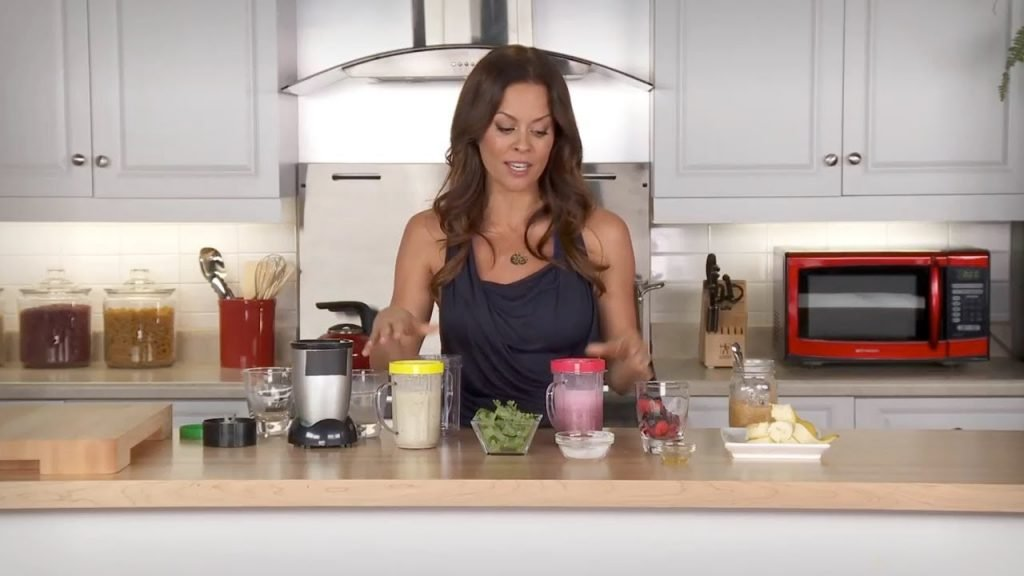 How to Make a Protein Shake with Brooke Burk