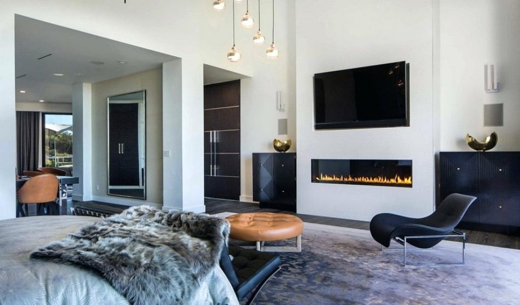 Style electric fireplace