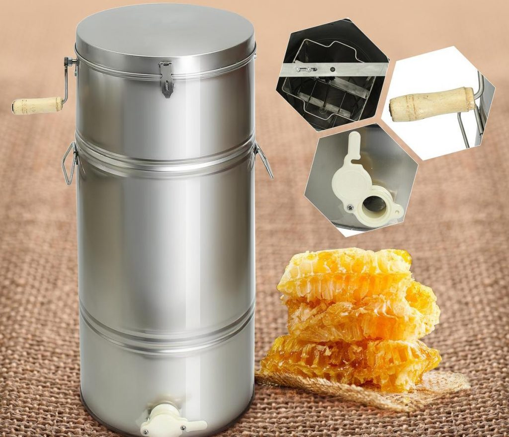 Stainless-steel extractor