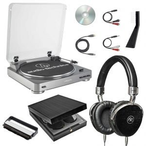 Audio Technica AT LP60 Fully Automatic Stereo Turntable System 4 300x300 image