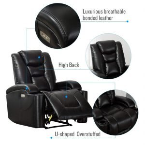 CANMOV Modern Electric Power Motion Recliner 4 300x300 image