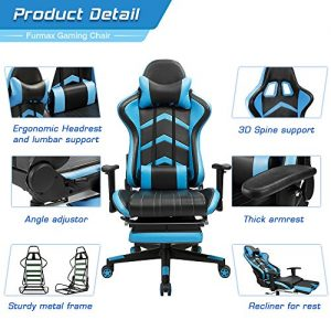 Furmax Gaming Chair High Back Racing Chair 4 300x300 image