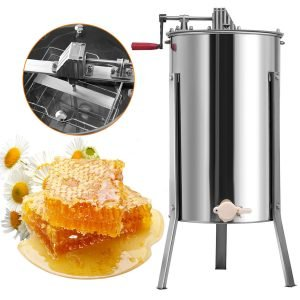 Goplus Large 2 Frame Stainless Steel Honey Extractor_4