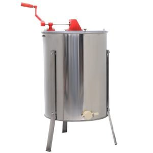 Goplus Large 4 8 Frame Stainless Steel Honey Extractor_1