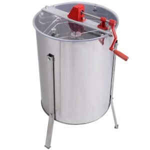 Goplus Large 4 8 Frame Stainless Steel Honey Extractor_2