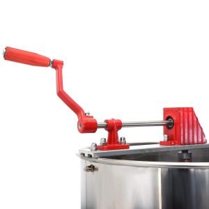 Goplus Large 4 8 Frame Stainless Steel Honey Extractor_5