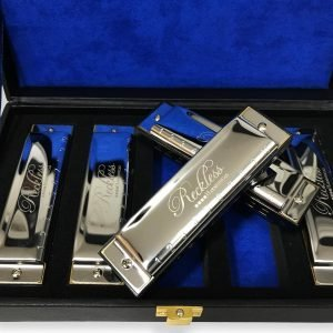 Harmonica Set with Case By Reckless Harmonicas 2 300x300 image