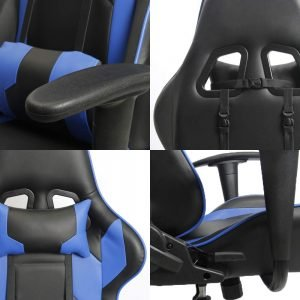Homall Executive Swivel Faux Leather Gaming Chair 3 300x300 image