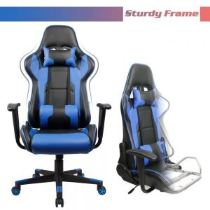 Homall Executive Swivel Faux Leather Gaming Chair 8 300x300 image
