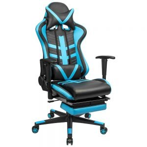 Homall Gaming Chair Ergonomic High Back Racing Chair Blue black S Racer 1 300x300 image
