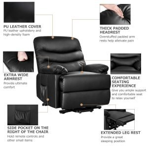 Merax Power Recliner and Lift Chair 4 300x300 image
