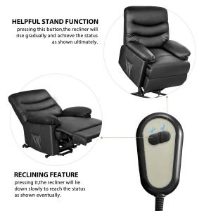 Merax Power Recliner and Lift Chair 5 300x300 image
