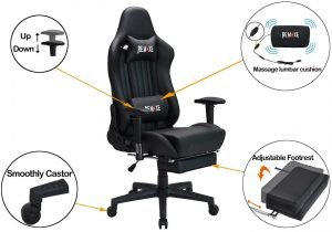 Remaxe Large Size Computer Gaming Chair 3 300x210 image
