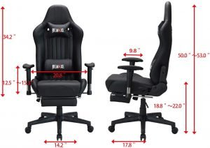 Remaxe Large Size Computer Gaming Chair 6 300x212 image