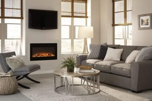 Touchstone Sideline Recessed Mounted Electric Fireplaces 36 Inches_3