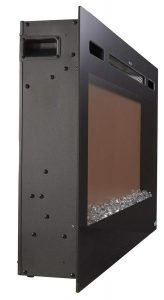 Touchstone Sideline Recessed Mounted Electric Fireplaces 36 Inches_5