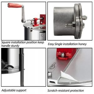 VINGLI Upgraded 2 Frame Honey Extractor_5