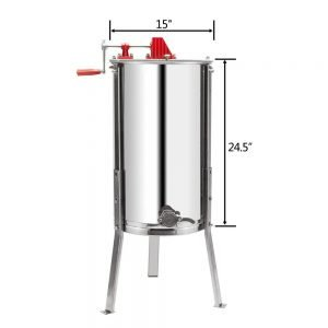 VINGLI Upgraded 2 Frame Honey Extractor_8