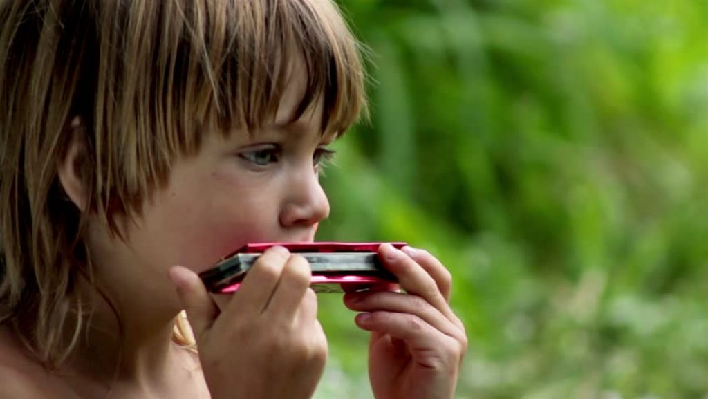 Harmonica for a child