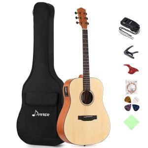 Donner DAG 1E Electric Acoustic Guitar Package 5 300x300 image