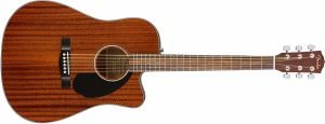 Fender CD 60SCE Dreadnought Acoustic Electric Guitar 1 300x115 image