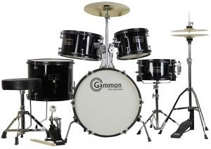 Gammon 5 Piece Junior Starter Drum Kit 2 300x212 image