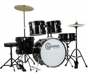 Gammon Adult 5 Piece Drum Set 1 300x262 image
