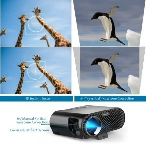 GooDee Video Projector 180 HD_5