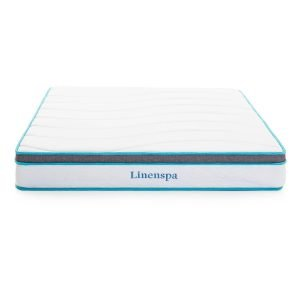 Linenspa 8 Inch Memory Foam and Innerspring Hybrid Mattress_1