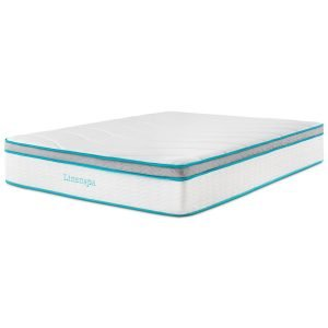Linenspa 8 Inch Memory Foam and Innerspring Hybrid Mattress_4