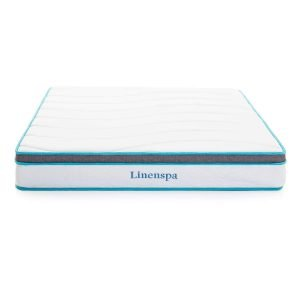 Linenspa 8 inch Memory Foam and Innerspring Hybrid 1 300x300 image