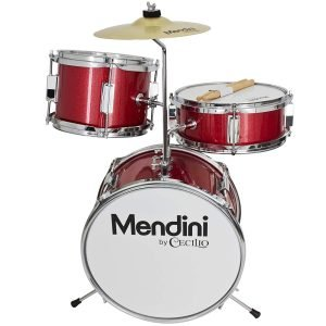 Mendini by Cecilio 13 Inch 3 Piece Kids Junior Drum Set 1 300x300 image