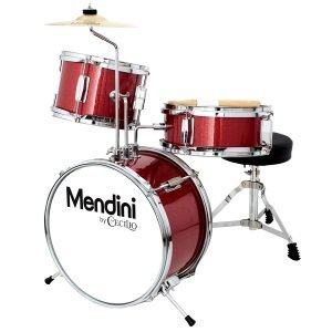 Mendini by Cecilio 13 Inch 3 Piece Kids Junior Drum Set 2 300x300 image