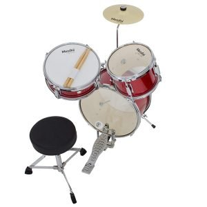 Mendini by Cecilio 13 Inch 3 Piece Kids Junior Drum Set 3 300x300 image