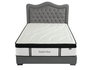 Suiforlun 14 Inch Hybrid Gel Memory Foam and Innerspring Mattress_3