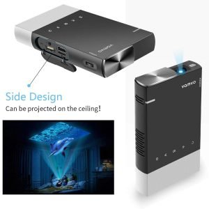 Vamvo Ultra Mini Portable Projector_4