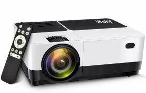 Wsky 2019 Newest Portable Home Theater Video Projector_1