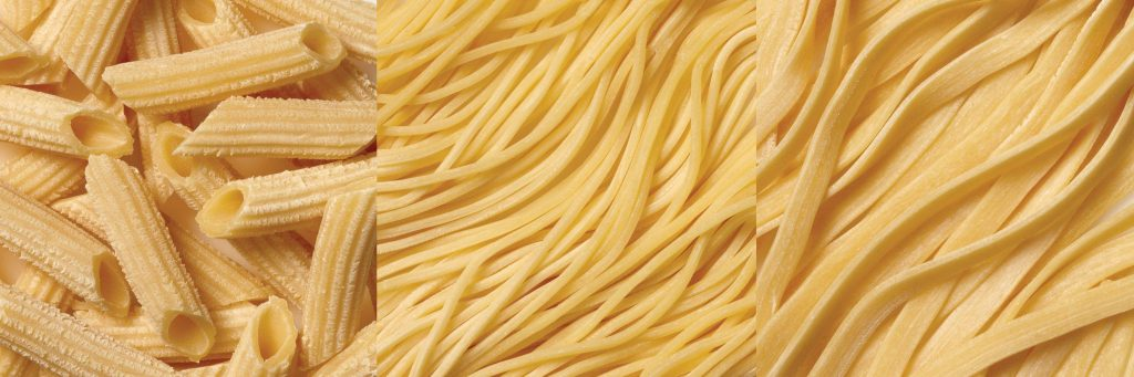 Thickness of the noodles