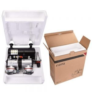 AW Pro Twin Cylinder Airbrush Compressor 4 300x300 image