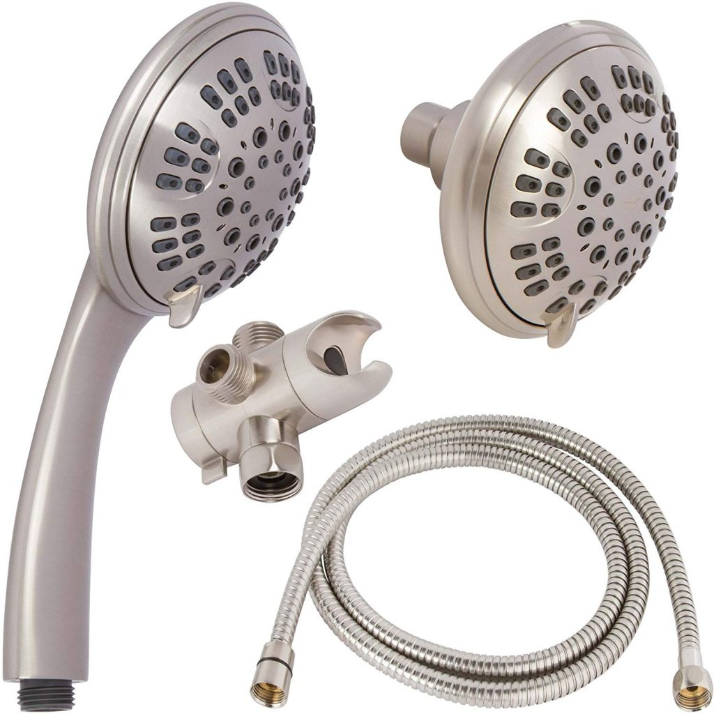 9 Best Dual Shower Heads Jan 2020 Reviews Buying Guide