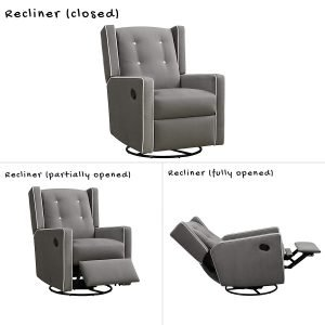 Baby Relax Mikayla Swivel Gliding Recliner 4 300x300 image