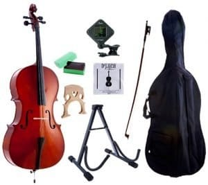 D'Luca MC100 Meister Student Cello Package_2