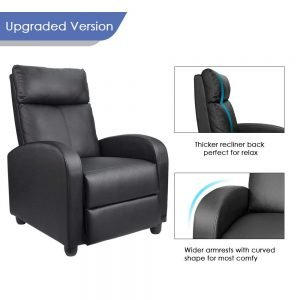 Homall Single Recliner Chair 3 300x300 image