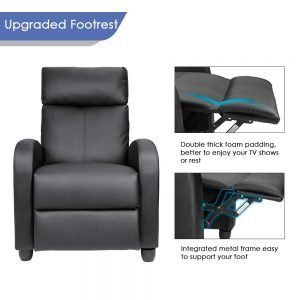 Homall Single Recliner Chair 4 300x300 image