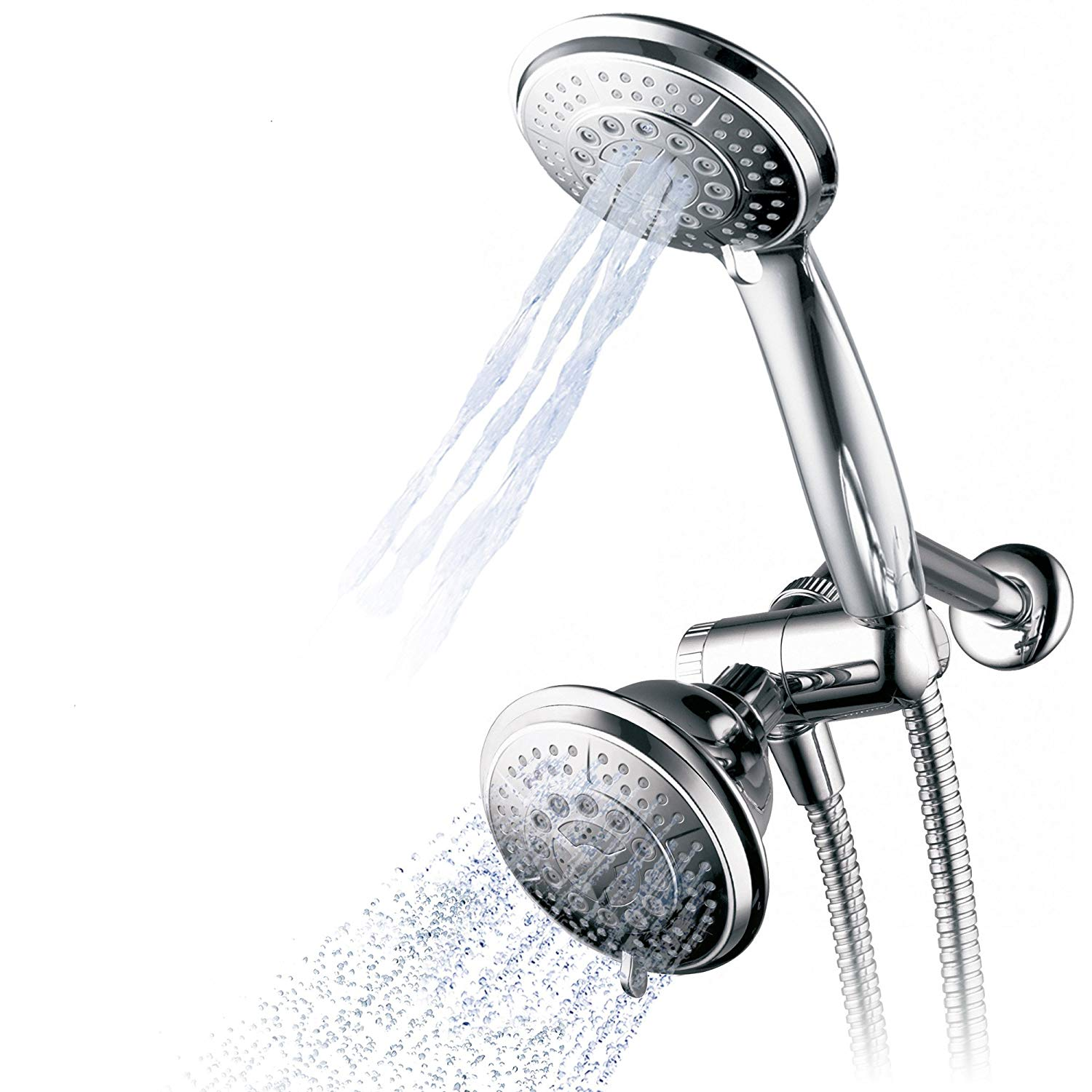 Hydroluxe Shower Head Handheld Shower Combo_1