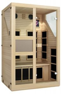 JNH Lifestyles ENSI Collection 2 Person Infrared Sauna-1